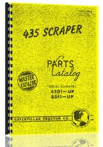 Parts Manual for Caterpillar 435 Scraper