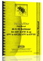Parts Manual for Caterpillar 4S Bulldozer Attachment