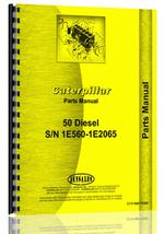 Parts Manual for Caterpillar 50 Crawler