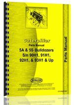 Parts Manual for Caterpillar 5A Bulldozer Attachment
