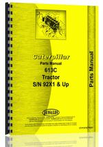 Parts Manual for Caterpillar 613C Tractor Scraper