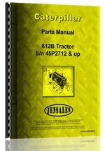 Parts Manual for Caterpillar 621B Tractor Scraper