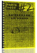 Parts Manual for Caterpillar 650 Tractor Scraper
