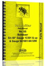 Parts Manual for Caterpillar 6S Industrial/Construction