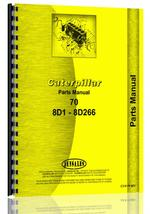 Parts Manual for Caterpillar 70 Crawler