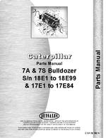 Parts Manual for Caterpillar D7 Crawler 7S Bulldozer Attachment