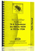 Parts Manual for Caterpillar D7 Crawler 7A Bulldozer Attachment