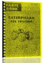 Parts Manual for Caterpillar 824 Tractor Scraper