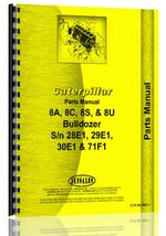 Parts Manual for Caterpillar D8&8A Attachment