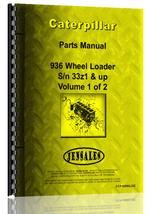 Parts Manual for Caterpillar 936 Wheel Loader