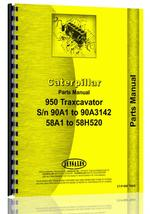 Parts Manual for Caterpillar 950 Wheel Loader