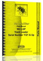 Parts Manual for Caterpillar 963 Traxcavator