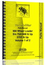 Parts Manual for Caterpillar 966 Wheel Loader