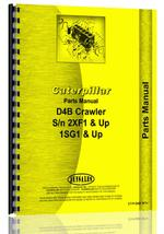 Parts Manual for Caterpillar D4B Crawler