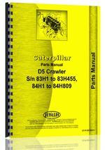Parts Manual for Caterpillar D5 Crawler