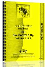 Parts Manual for Caterpillar D8H Crawler