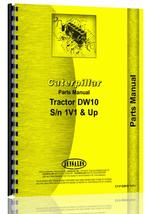 Parts Manual for Caterpillar DW10 Tractor