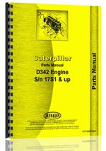 Parts Manual for Caterpillar D342 Engine