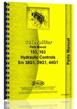 Parts Manual for Caterpillar 153 Hydraulic Control Attachment