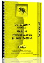 Parts Manual for Caterpillar D8 Crawler 183 Hydraulic Control Attachment
