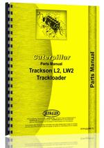 Parts Manual for Caterpillar LW2 Trackson Track Loader