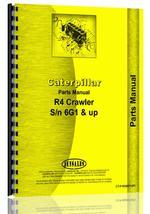 Parts Manual for Caterpillar R4 Crawler