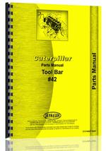 Parts Manual for Caterpillar 42 Tool Bar Attachment