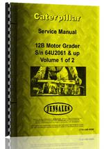 Service Manual for Caterpillar 120B Grader