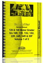 Service Manual for Caterpillar 140 Grader