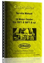 Service Manual for Caterpillar 14 Grader
