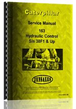 Service Manual for Caterpillar 163 Hydraulic Control Attachment