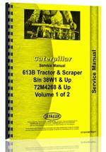Service Manual for Caterpillar 613B Tractor Scraper