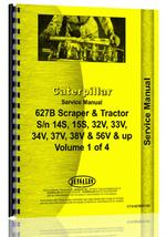 Service Manual for Caterpillar 627B Tractor Scraper