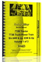 Service Manual for Caterpillar 772B Truck