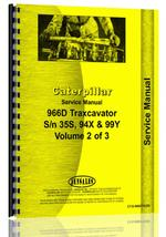 Service Manual for Caterpillar 966D Wheel Loader