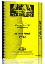 Service Manual for Caterpillar Auto Patrol Grader