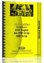 Service Manual for Caterpillar D337 Engine