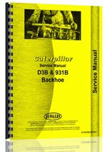 Service Manual for Caterpillar D3B Crawler Backhoe Attachment