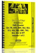 Service Manual for Caterpillar D4D Crawler