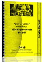 Service Manual for Caterpillar 3306 Engine