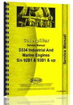 Service Manual for Caterpillar D334 Engine