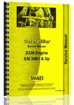 Service Manual for Caterpillar D339 Engine
