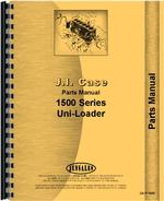 Parts Manual for Case 1500 Uniloader