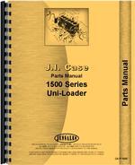 Parts Manual for Case 1537 Uniloader
