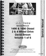 Service Manual for Case 1594 Tractor