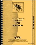 Parts Manual for Case 1700 Uniloader