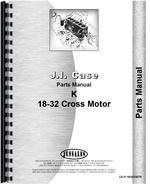 Parts Manual for Case 18-32 Tractor