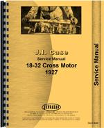 Service Manual for Case 18-32 Tractor