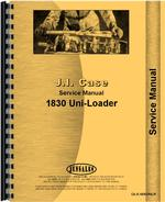 Service Manual for Case 1830 Uniloader