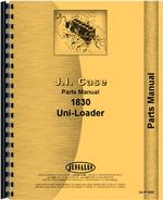 Parts Manual for Case 1830 Uniloader